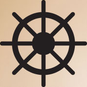 Large Ship Wheel