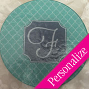 Small Glass Cutting Board Round