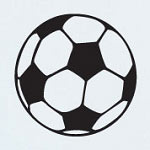 Soccer Ball Shapes Sports Wall Decal