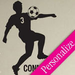 Soccer Boy Custom Wall Decal Sports Vinyl Wall Art