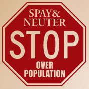 Spay & Neuter Sign
