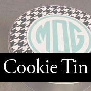 Personalized Cookie Tins