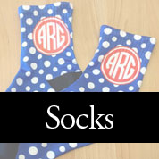 Monogram Socks