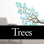 Trees & Flower Decals