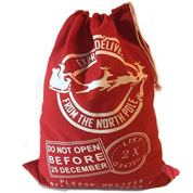 Santa Sack - Express Delivery Red