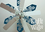 Leaves Ceiling Decal Removable Ceiling Sticker