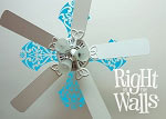 Paddles Ceiling Decal Removable Ceiling Sticker