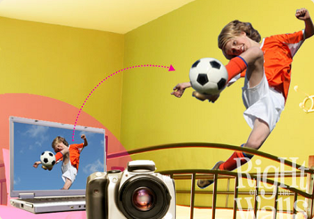 Custom Printed Wall Decals Vinyl Art Stickers From Your Photo Or Artwork