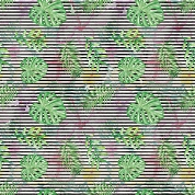 Tropical Leaves Patterned Craft Vinyl 12