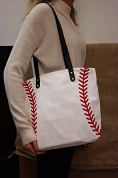 Baseball Purse Tote Bag