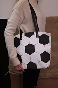 Soccer Purse Tote Bag