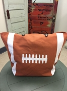 Football Large Tote Bag