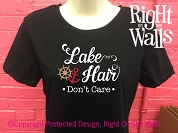 Lake Hair Don't Care Women's T-Shirt
