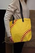 Softball Purse Tote Bag
