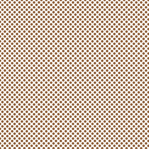 "Brown Dots, Craft Vinyl 12"" x 12"" Sheet"