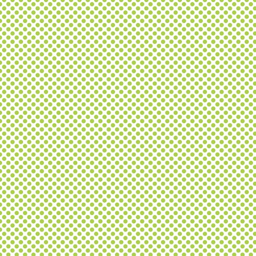 "Green Dots, Craft Vinyl 12"" x 12"" Sheet"