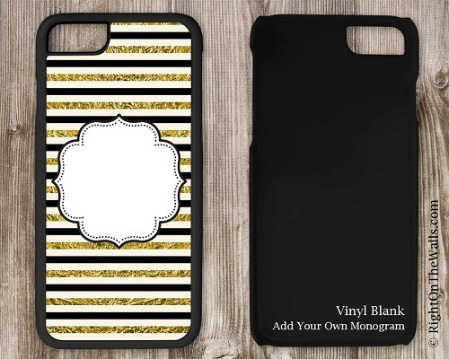 Craft Blank Phone Case, Wholesale Blank iPhone Case Gold Foil