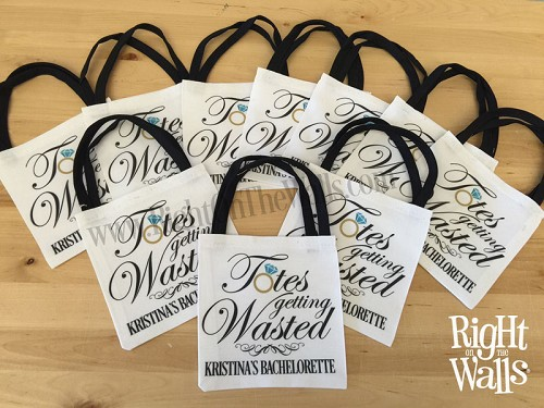 Totes Getting Wasted Mini Tote Bag