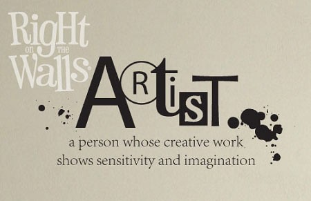 Artist Definition Vinyl Wall Art, Wall Decal