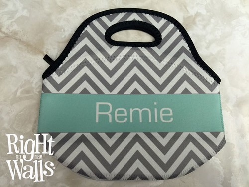 Custom Insulated Lunch Tote with Band