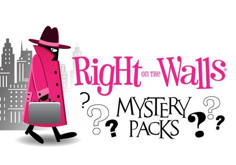 Mystery Pack Wall Decal Overstock