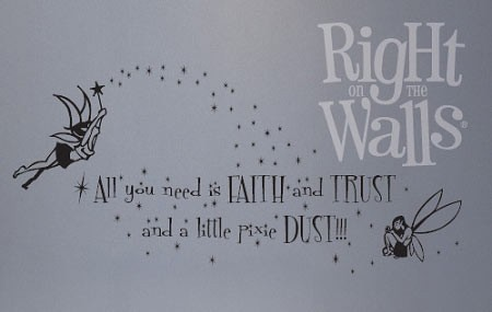 Pixie Dust Kids Vinyl Wall Art Decal