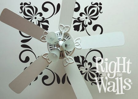 Whimsy Reverse Ceiling Decal Removable Ceiling Sticker